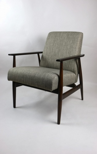 Fotel Lis Lata 70 Brązowy Projekt Henryk Lis Dostępne 2 Sztuki