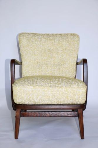 Fotel Gięty Vintage Lata 70