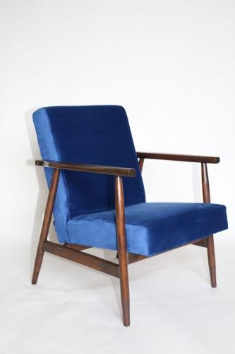 Fotel Typu śnieżnik Lata 70 Granatowy Jak Lis